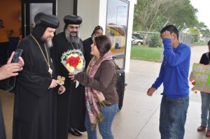 2013.07.19 Arrival of H.G Bishop Serapion to Bolivia 05